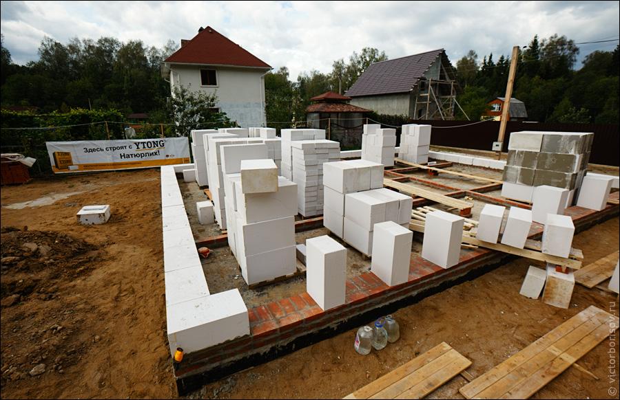 Строительство из газосиликата своими руками