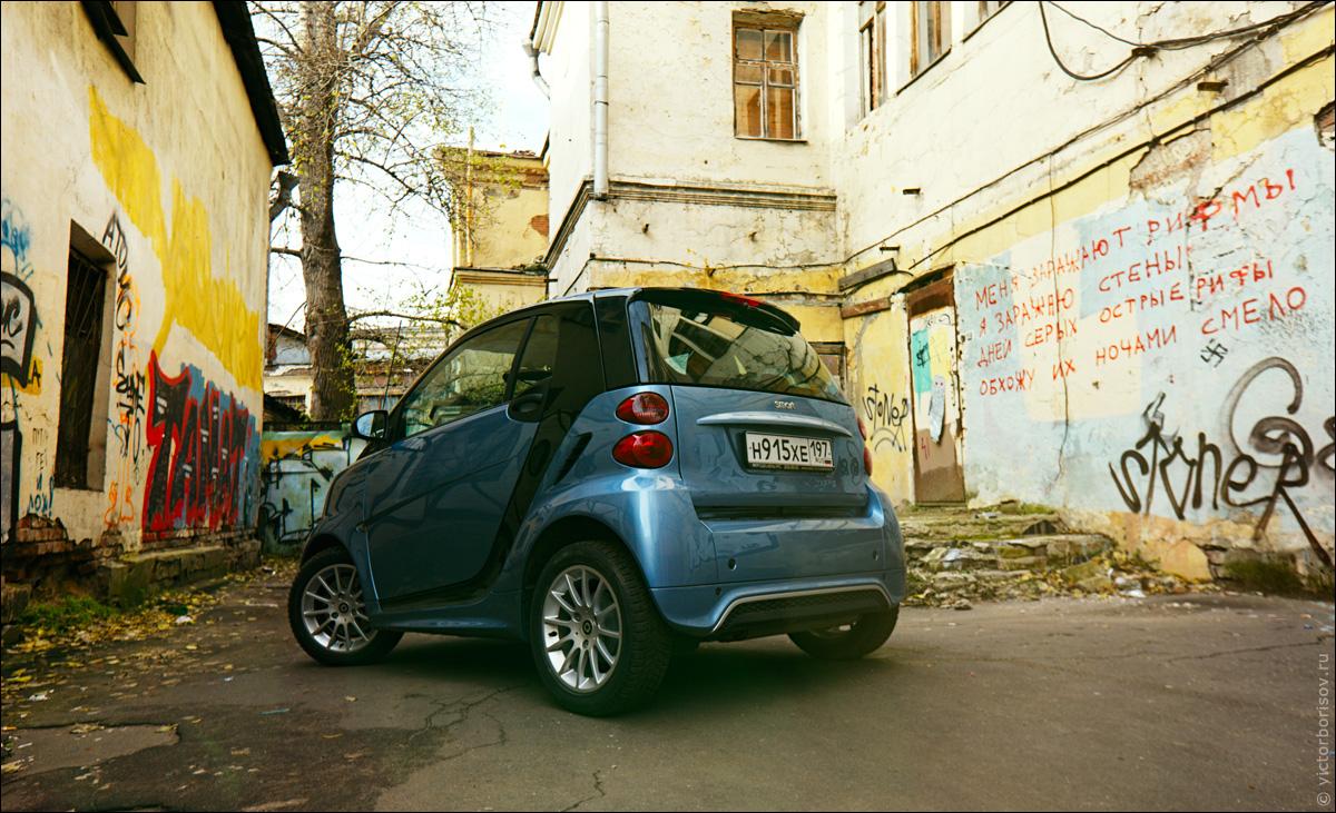 Городской спорткар Smart Fortwo Coupe