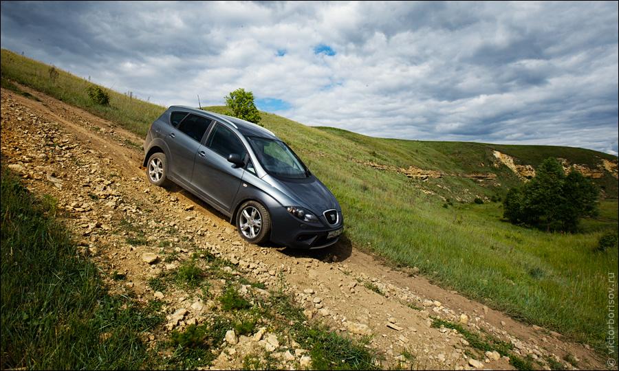 Тест SEAT Altea Freetrack (4WD)
