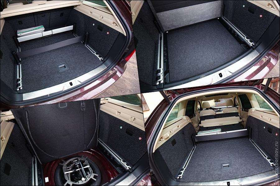 Спортивный «сарай» Skoda Superb Combi 3,6 4x4 DSG