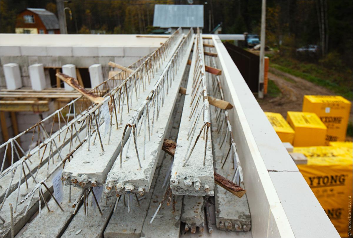 Заливка бетона своими руками в 64