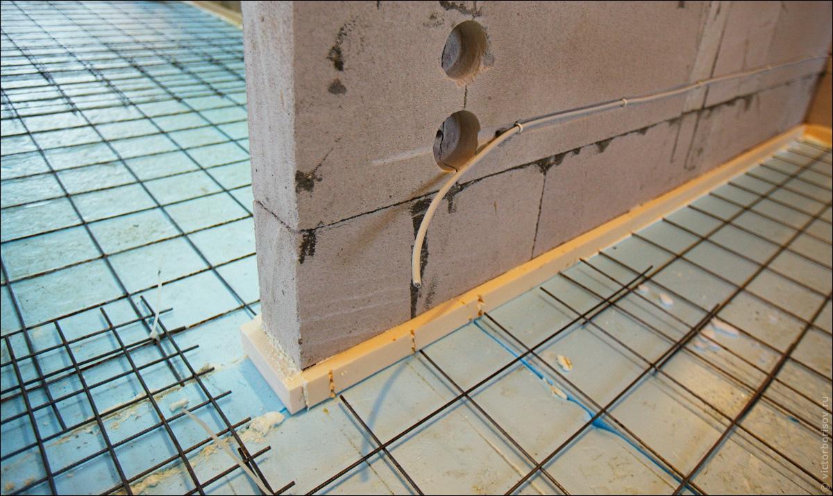 Как сделать полистиролбетона стяжку