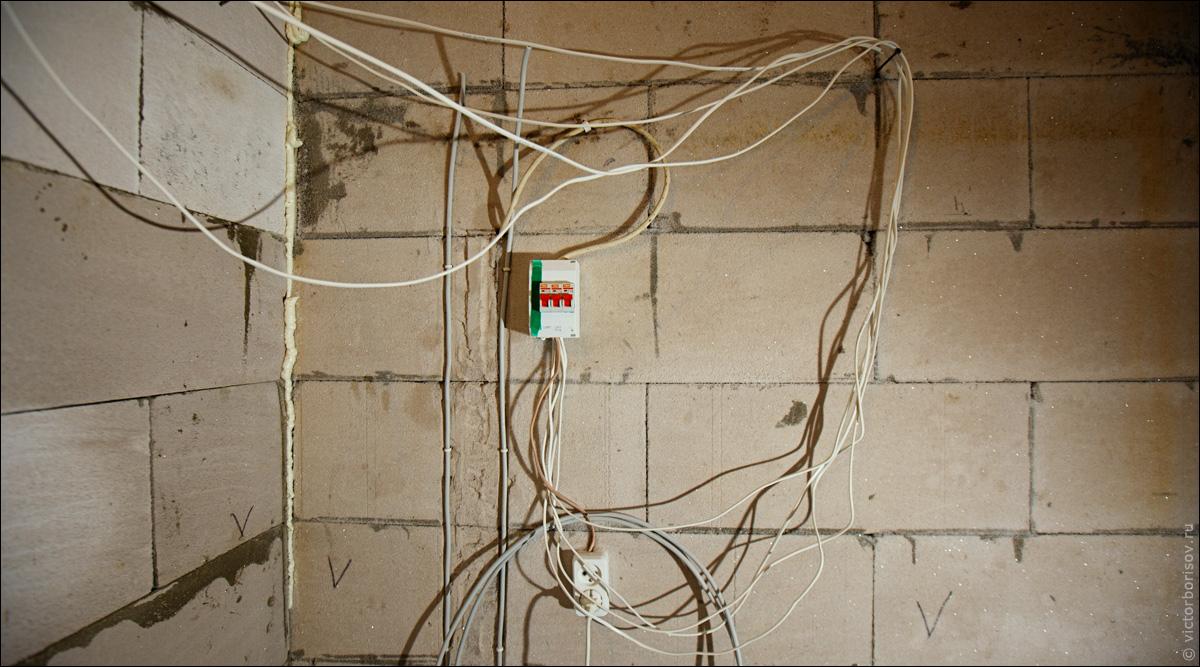 Электропроводка в строящемся доме своими руками6