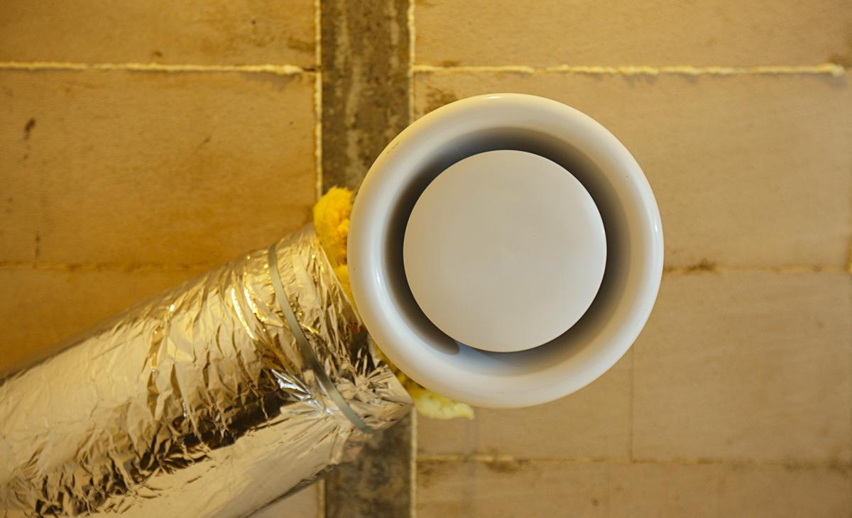схема воздушного отопления в доме своими руками