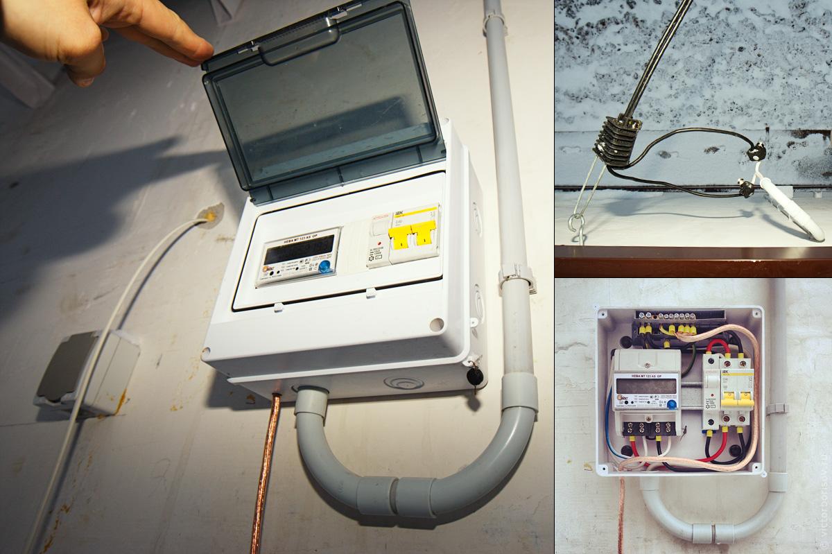 нужна схема прибора обнаружения электрокабеля в стенке