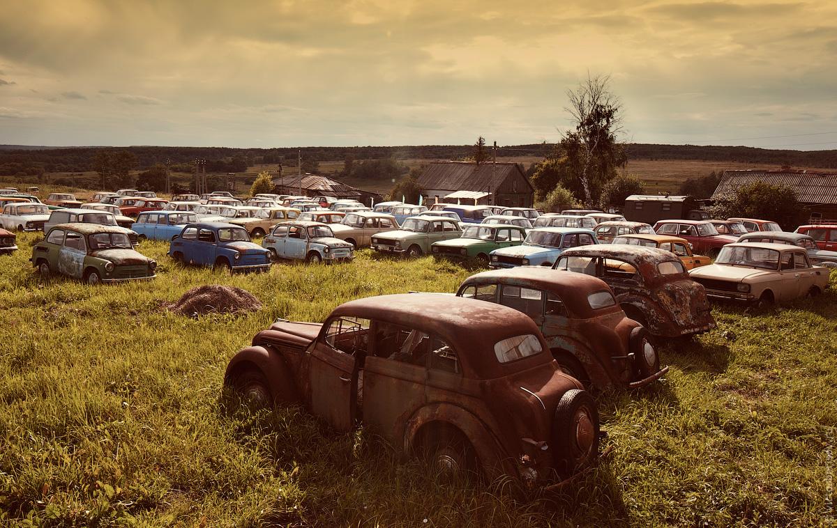 Коллекция автомобилей Михаила Красинца