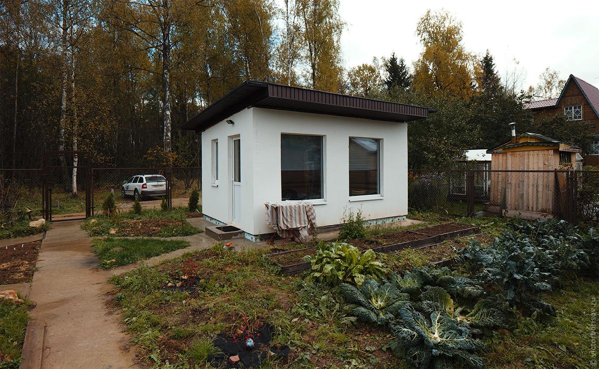Как я построил гостевой домик за 150 000 рублей