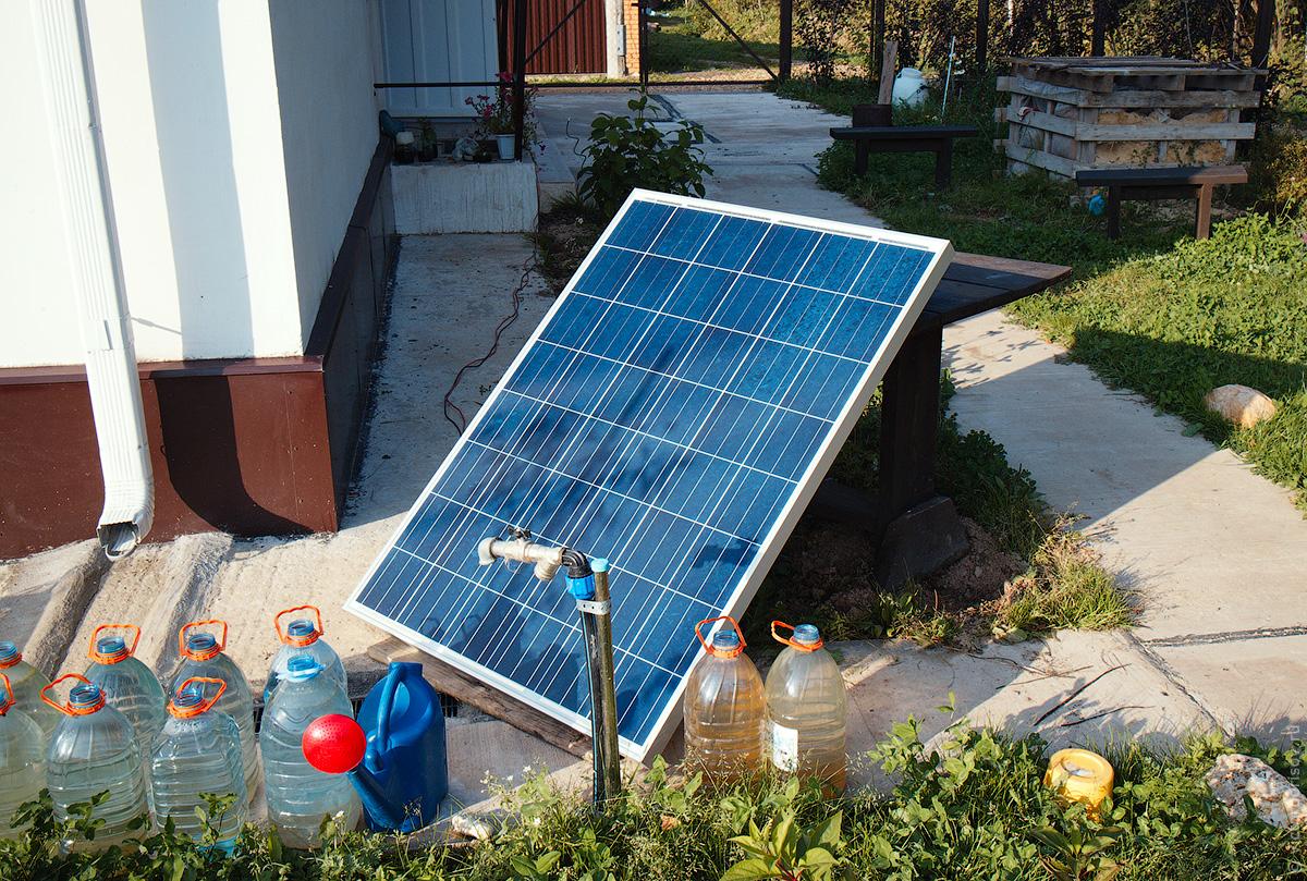 Самый доступный вариант использования солнечной энергии