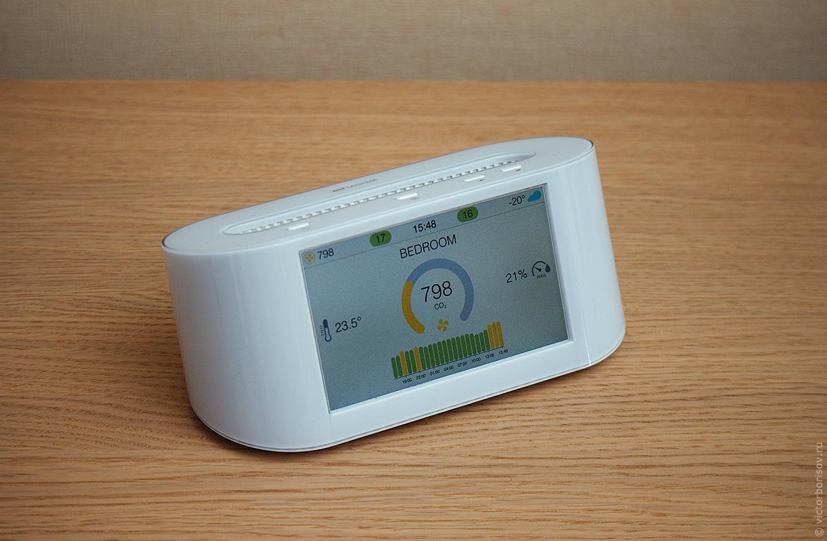 Изучаем микроклимат в квартире с помощью станции AirVisual Node