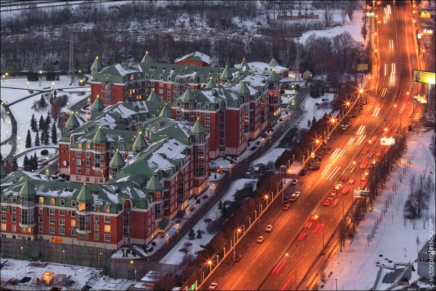 Башня часть комплекса москва