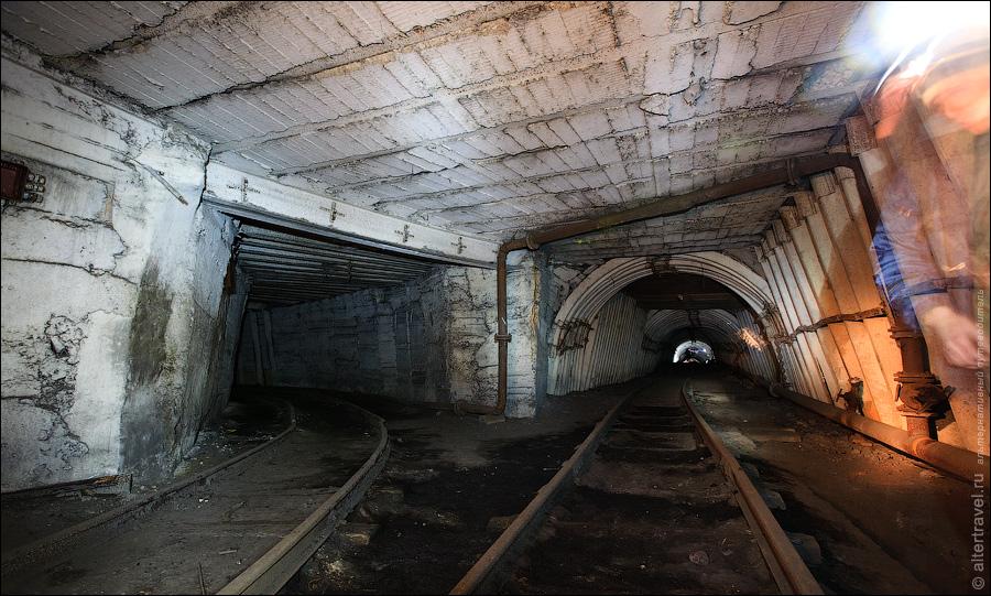 с момента открытия шахты.