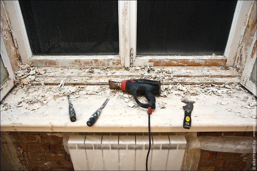 Ремонт старых деревянных окон своими руками: технология по
